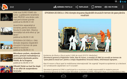 Stiri din Romania 4.9.0 Screenshots 14