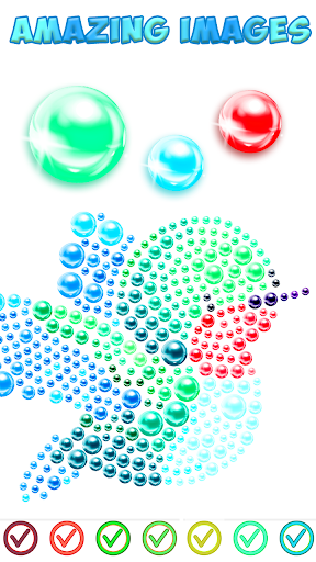 Magnetic Balls Color By Number - Magnet Bubbles android2mod screenshots 5