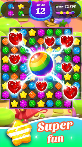 Gummy Candy Blast - Free Match 3 Puzzle Game 1.4.4 screenshots 1