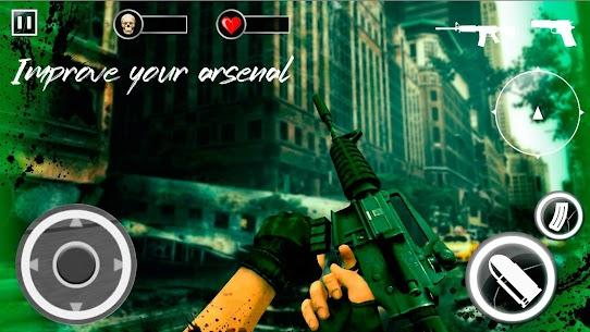 Z For Zombie Mod Apk: Freedom Hunters (God Mode/Dumb Enemy) 4