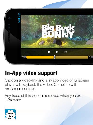 InBrowser - Incognito Browsing 2.42.5 Screenshots 4