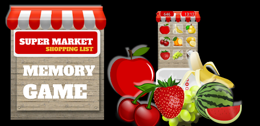 SUPER MARKET SHOPPING LIST MEMORY GAME .APK Preview 0