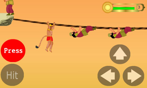 Hanuman the ultimate game apktram screenshots 1