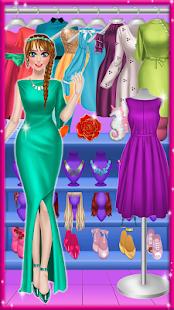 サロンファッションスタイルをドレスアップ