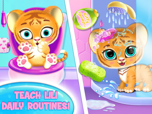 Baby Tiger Care - My Cute Virtual Pet Friend modavailable screenshots 8