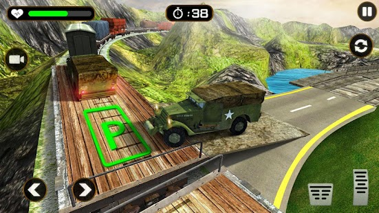 US Army Truck Driving Simulation Games: Truck Game Screenshot