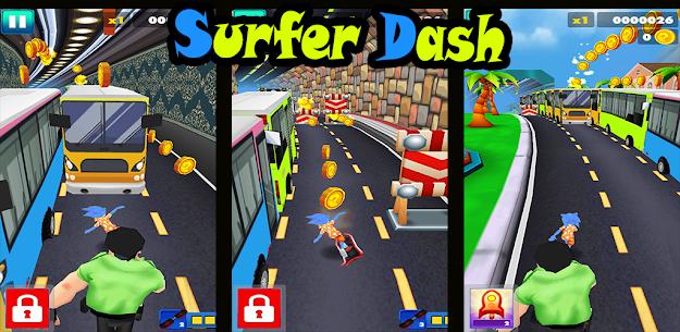 Endless escaping game Surfer Dash APK 1