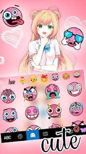 Jk Uniform Girl Keyboard Theme 1.0 MOD for Android 3