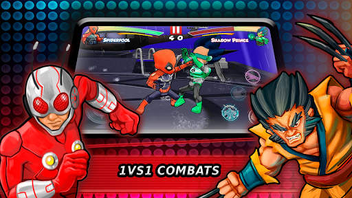 Superheroes Fighting Games Shadow Battle 7.3 screenshots 1