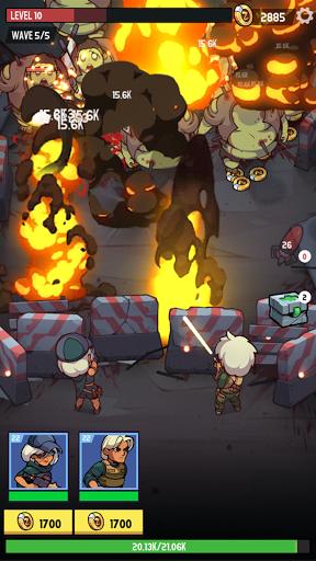 Télécharger Zombie Ahead! APK MOD (Astuce) screenshots 4