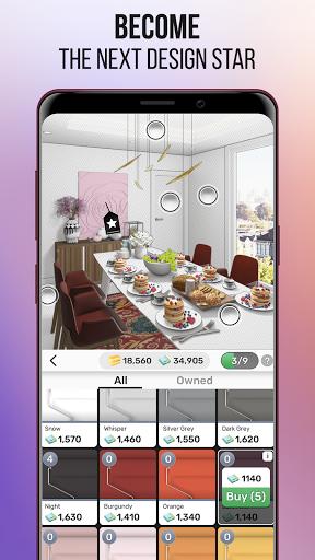 Home Design Star : Decorate & Vote 1.3.3 screenshots 4
