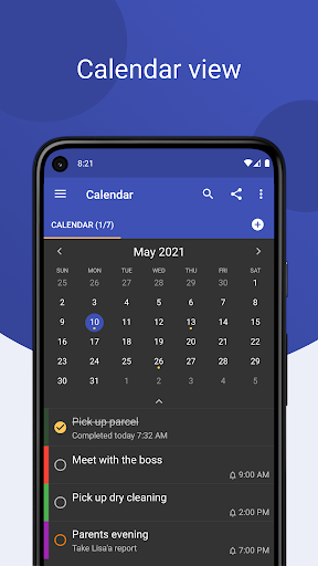 Tasks: to do list with sync, reminders & calendar apktram screenshots 4