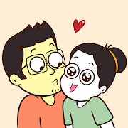 Official Lovehandle Comics Stickers for Whatsapp