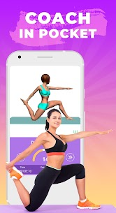 Pilates workout routine-Fitness exercises at home 2.5.0 Apk 4