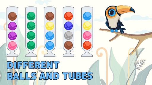 Sort Color Balls - puzzle game  screenshots 4