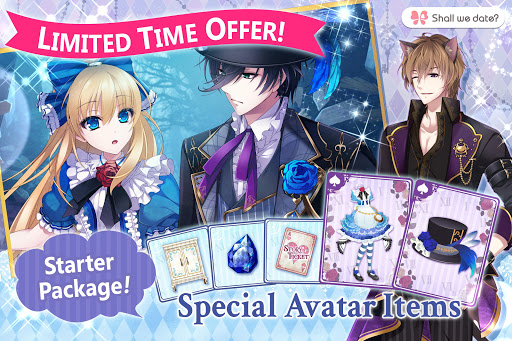 Code Triche Lost Alice - otome game/dating sim #shall we date (Astuce) APK MOD screenshots 6
