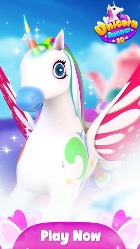 Unicorn Runner 3D - Super Magical Runner Adventure 1.0.2 screenshots 2