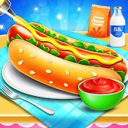 Hot Dog Maker Fast Food Restaurant - Cooking Games