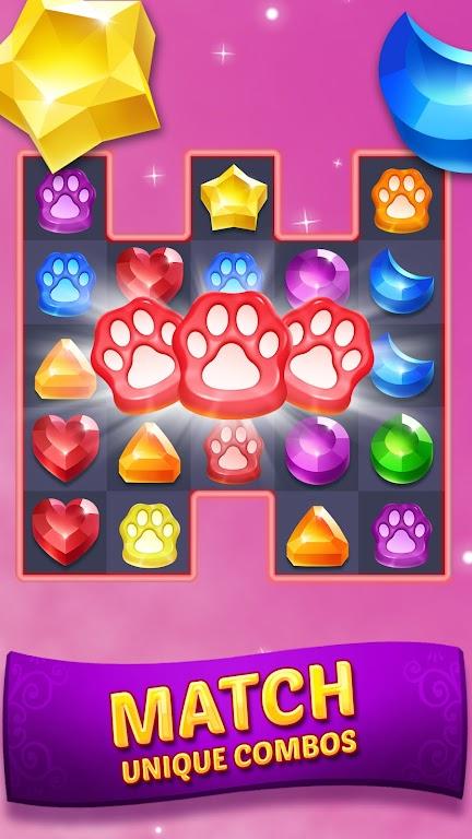 Genies & Gems - Match 3 Game poster 1
