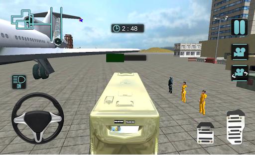 airport bus prison transport screenshot 1