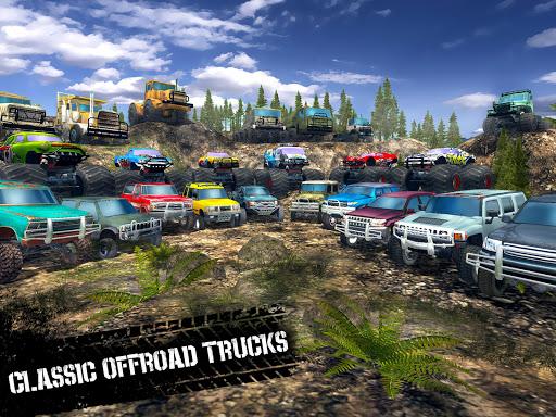 Offroad Driving Simulator 4x4: Trucks & SUV Trophy  Screenshots 8