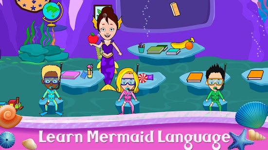 My Tizi Town - Underwater Mermaid Games for Kids 1.0 Screenshots 17