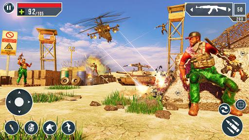 IGI Cover Fire Gun Strike: FPS Shooting Game Apkfinish screenshots 8