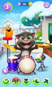 My Talking Tom 2 Mod Apk Unlimited Fun + Unlimited Coins 1