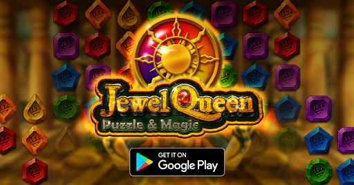 Jewel Queen: Puzzle & Magic - Match 3 Game  screenshots 14