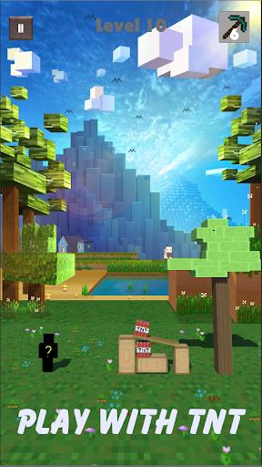 Break Block - Recuse The Pig - Puzzle Miner Game apkpoly screenshots 4