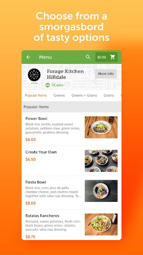 EatStreet: Local Food Delivery & Restaurant Pickup  screenshots 3