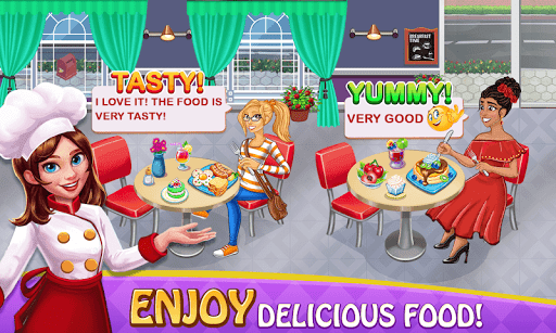 Cooking Delight Cafe Chef Restaurant Cooking Games  screenshots 3