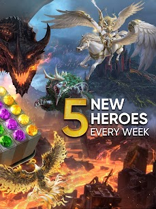 Legendary: Game of Heroes MOD APK 3.9.8 (Quick win) 12