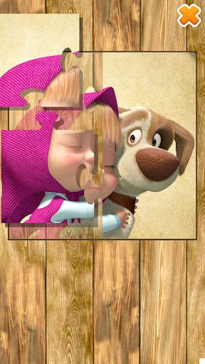 Masha and the Bear: Running Games for Kids 3D  screenshots 3