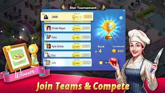 Tasty Cooking Cafe & Restaurant Game: Star Chef 2 7
