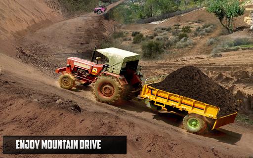 New Tractor trolley Farming Cargo Driver 3D  screenshots 3