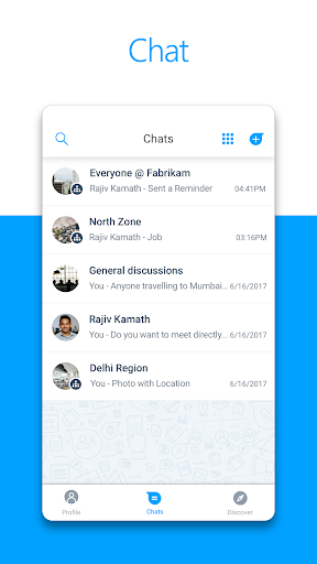 Microsoft Kaizala u2013 Chat, Call & Work 1.1.2816.5612 Screenshots 5
