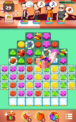 Sweet Jelly Pop 2021 - Match 3 Puzzle 1.0 screenshots 5