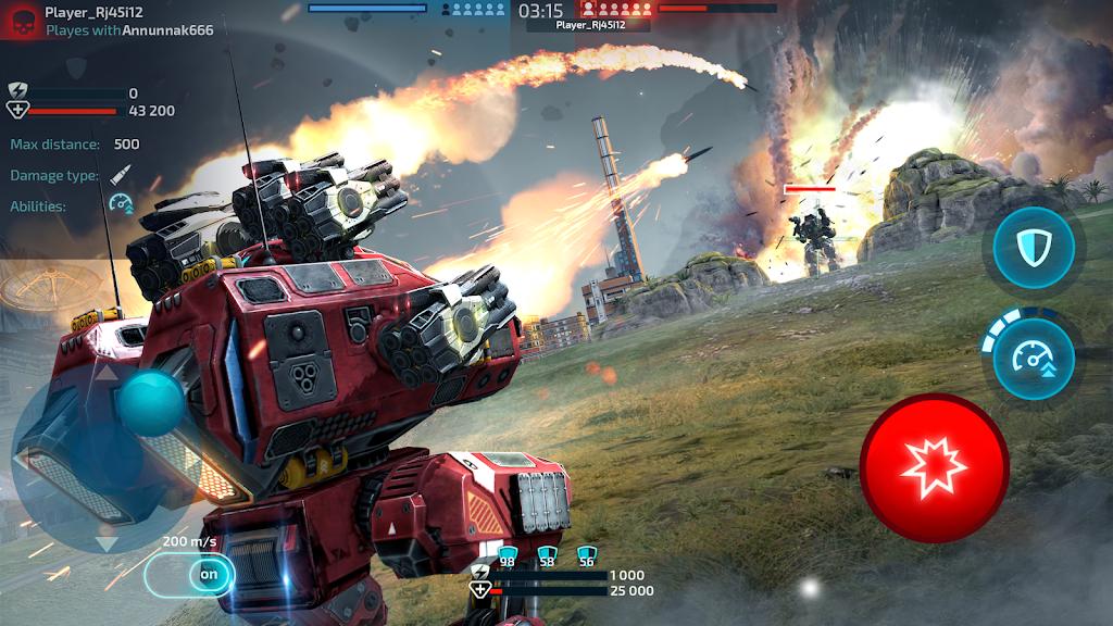 Robot Warfare: Mech Battle 3D PvP FPS  poster 1