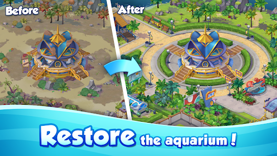 Aqua Blast: Fish Matching 3 Puzzle & Ball Blast 5