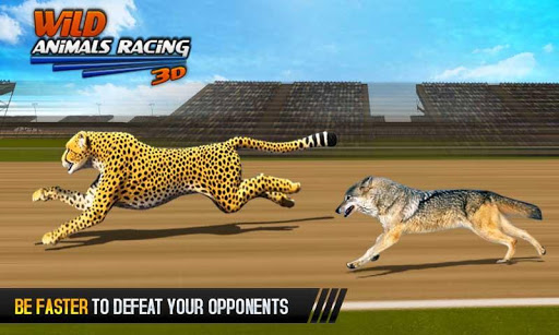 Wild Animals Racing 3D 3.9 screenshots 4