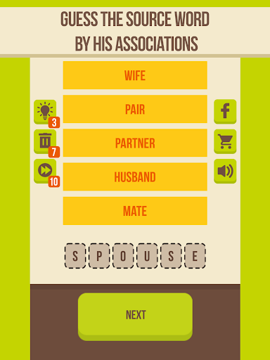 Guess the word - 5 Clues, word games for free 2.8.1 screenshots 8