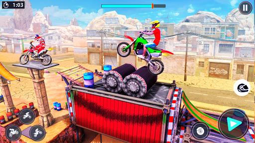 Bike Stunt Racer 3d Bike Racing Games - Bike Games apkslow screenshots 7