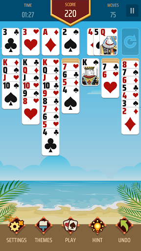 Solitaire 1.21 screenshots 3