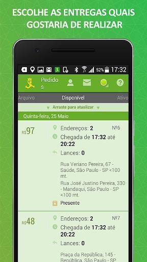 ClickEntregas: Courier Job App in Brazil modavailable screenshots 2
