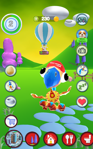 Talking Bird apkpoly screenshots 9