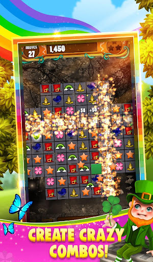 Match 3 - Rainbow Riches 1.0.17 screenshots 4