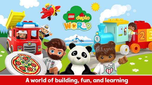 LEGO u00ae DUPLO u00ae WORLD - Preschool Learning Games  screenshots 1