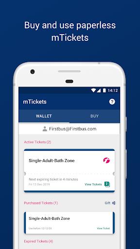 First Bus – Plan, buy mTickets & live bus times  screenshots 3