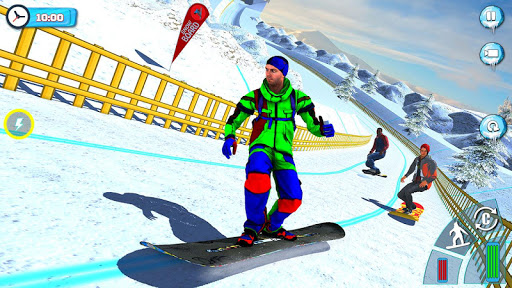 Snowboard Downhill Ski: Skater Boy 3D screenshots 11